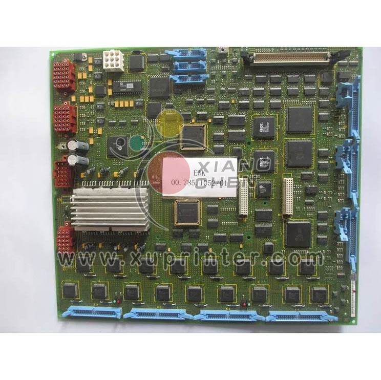 Heidelberg Flat Module EWK, 00.785.1052, Heidelberg Circuit Board, Heidelberg Offset Press Parts