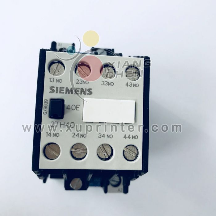 Heidelberg Switch, Siemens 3TH43 Control Relay 3TH4310-0A, Heidelberg offset press parts