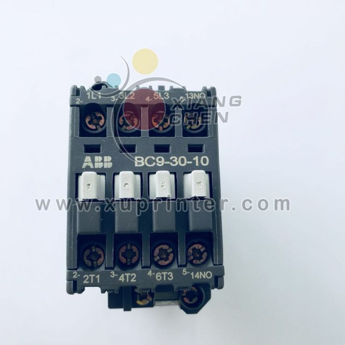 Heidelberg  Switch, ABB Contactor BC9-30-10, Heidelberg offset machinery parts